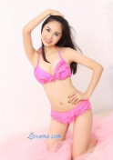 pretty in pink Chinese girl