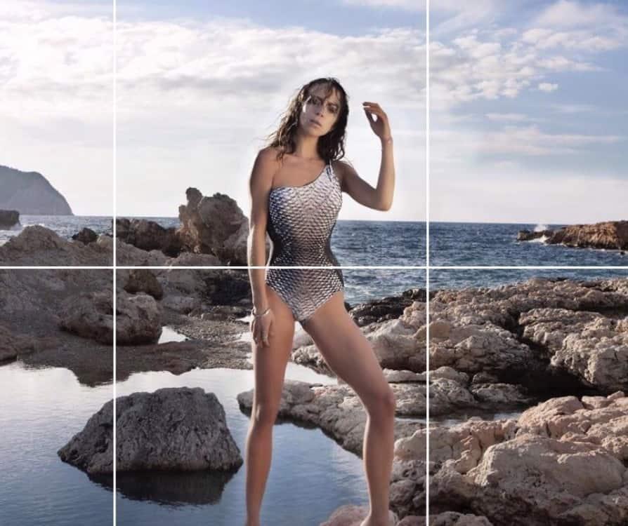 Rachel Montague swimwear pictorial for assets model agency