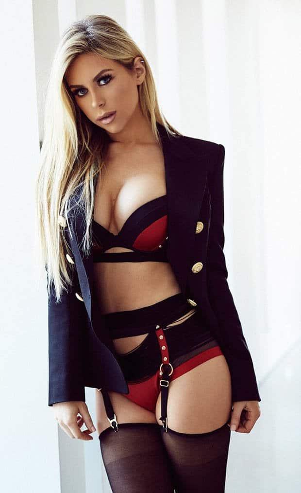 Tiffany Stanley blonde Irish model