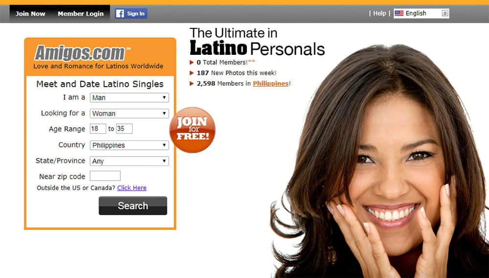 Amigos dating website - Latin personals