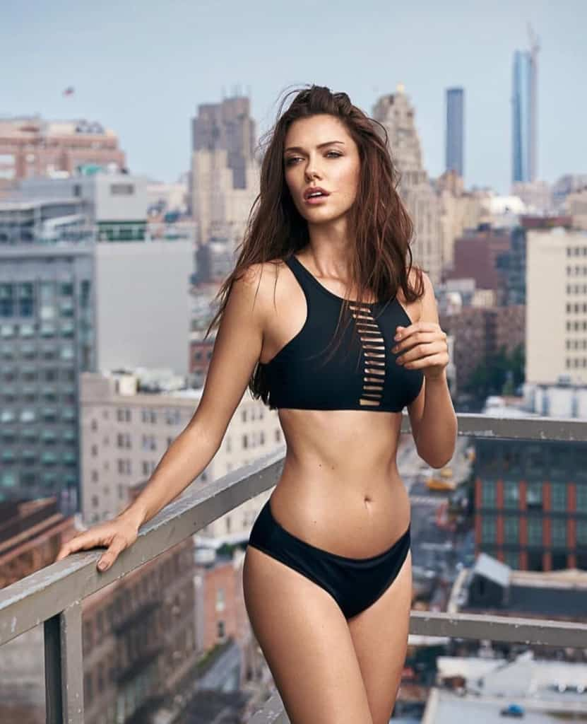 Anna Christina Schwartz picture at the top of a building