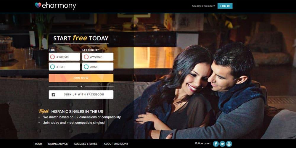 eHarmony Hispanic dating