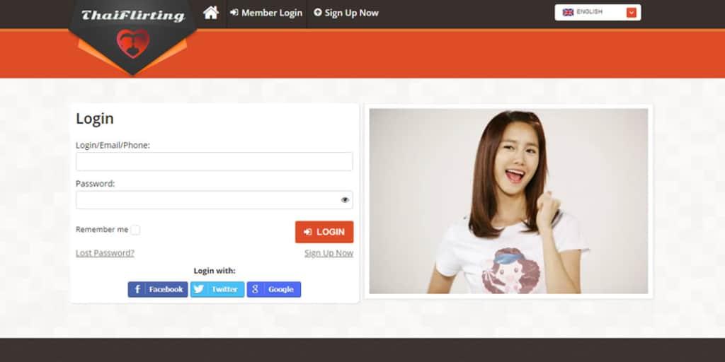 Thai Flirting dating app