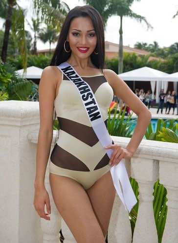 Aiday Issayeva Miss Kazakhstan 2013