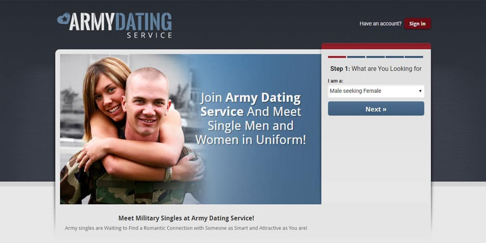 Armydatingservice.com - Meet single men and women in uniform