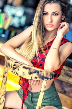attractive Ukrainian woman for marriage