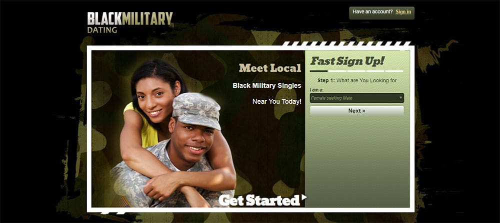 Black Military Dating site