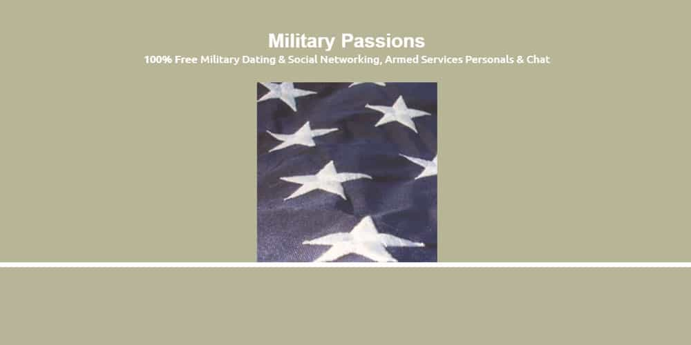 Military Passions military dating and social networking