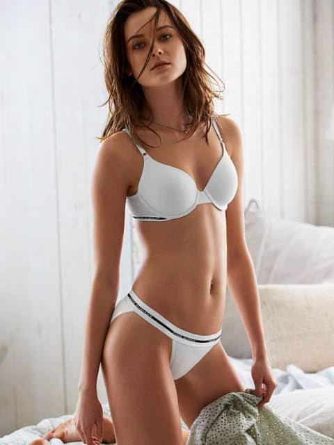 Monika Jagaciak sexy Polish fashion model