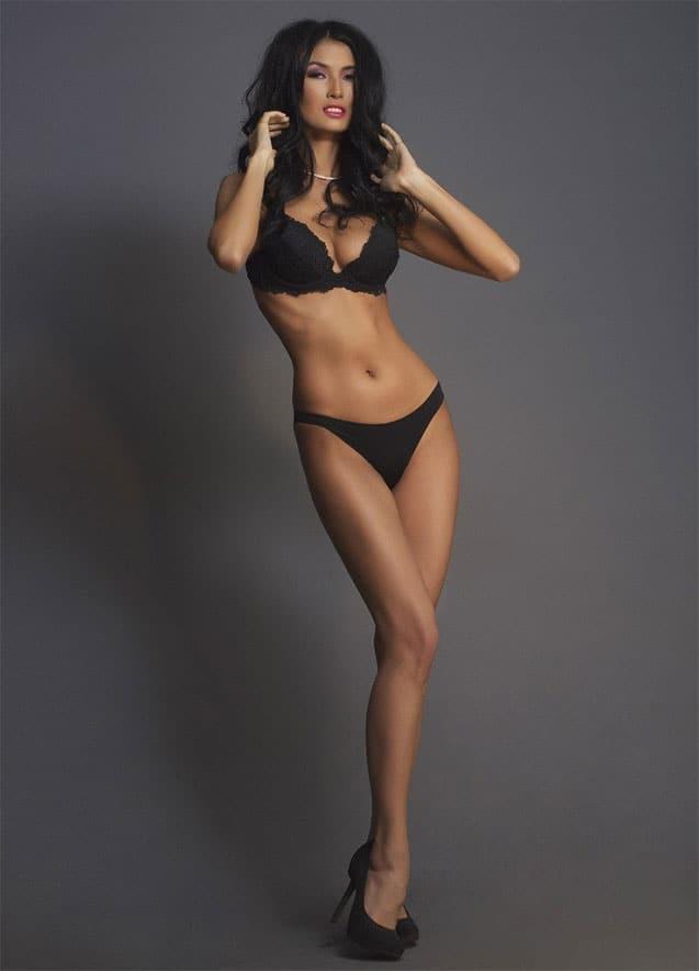Zhanna Zhumaliyeva slim sexy body