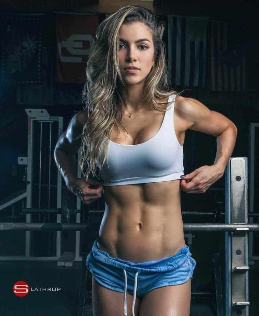 Anllela Sagra fitness model