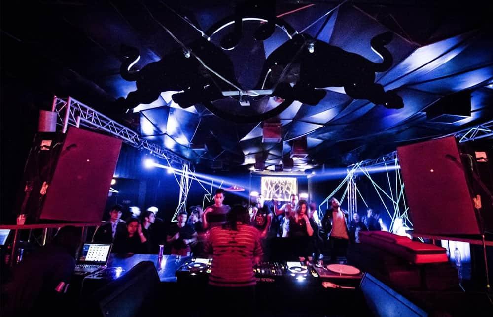 Bogota, Colombia nightclub party