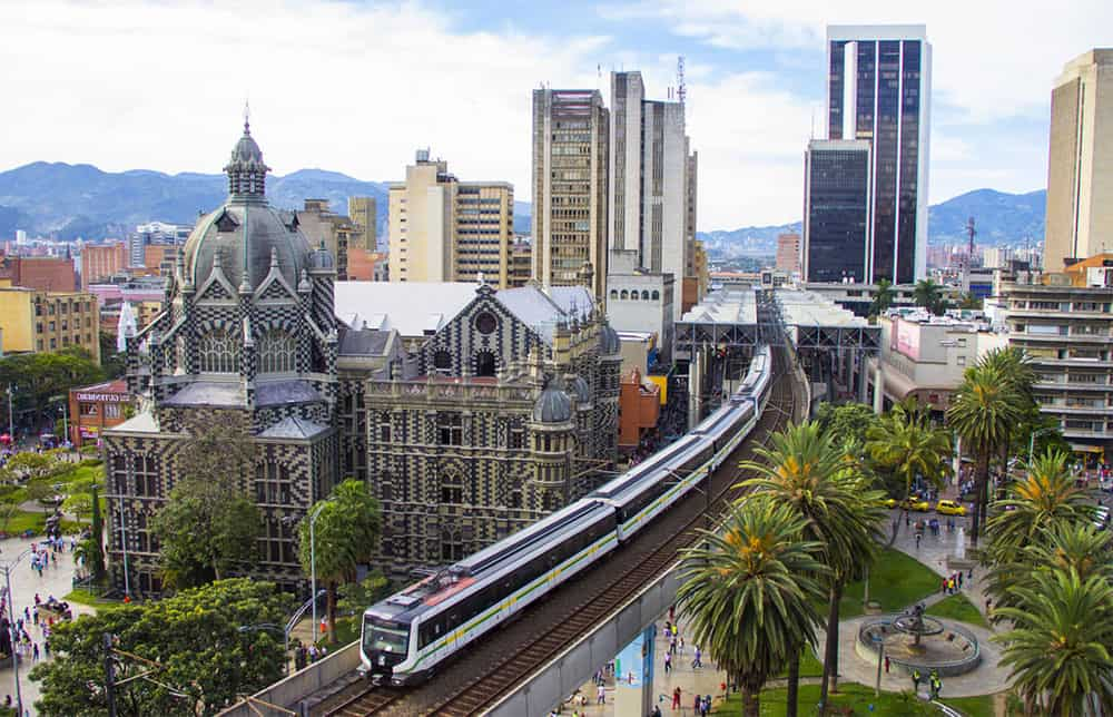 train transit Medellin Colombia