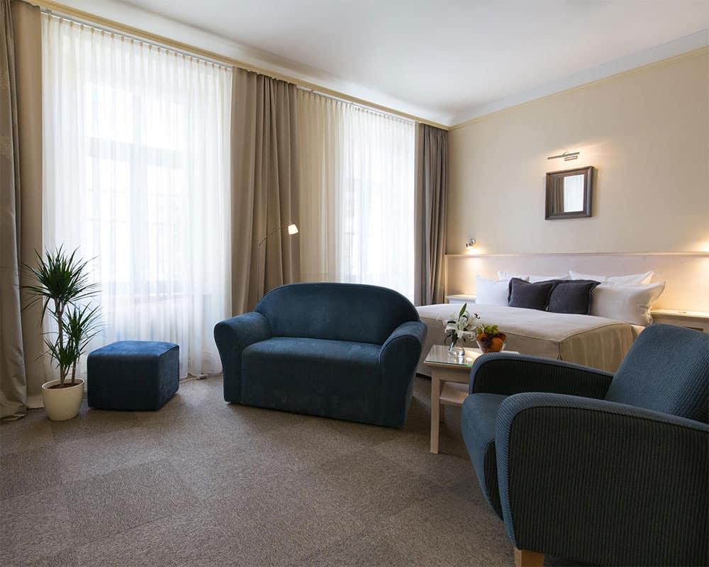 a nice room at Unitas hotel