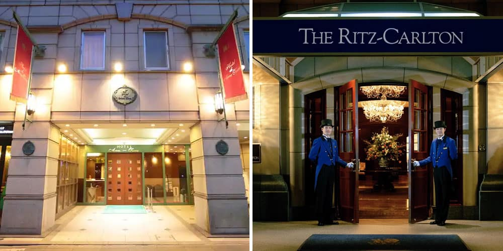 Arca Torre and Ritz Carlton hotels in Japan