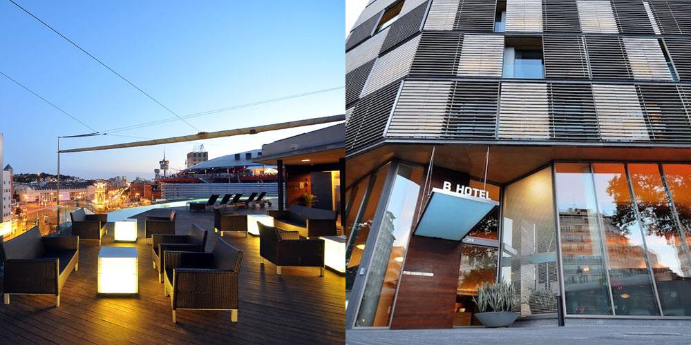 B-Hotel in Barcelona