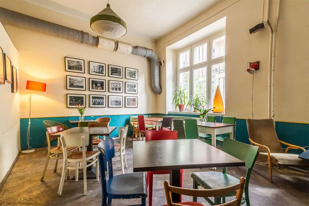 Cafe V Lese in Prague