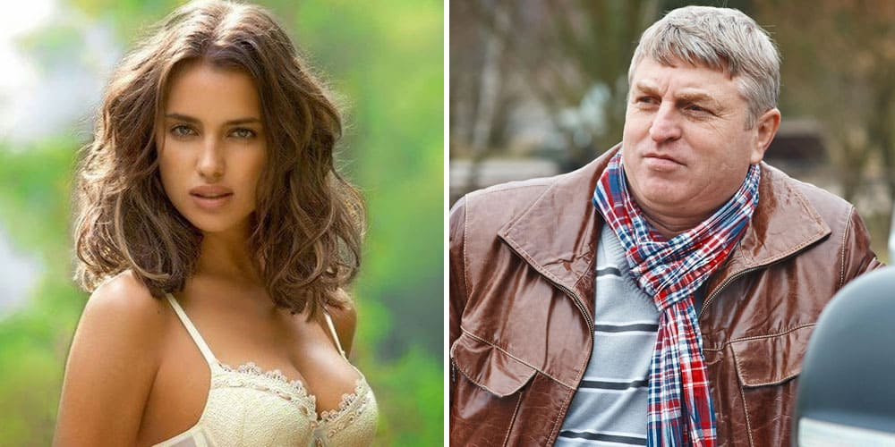 classy Russian girl and older man