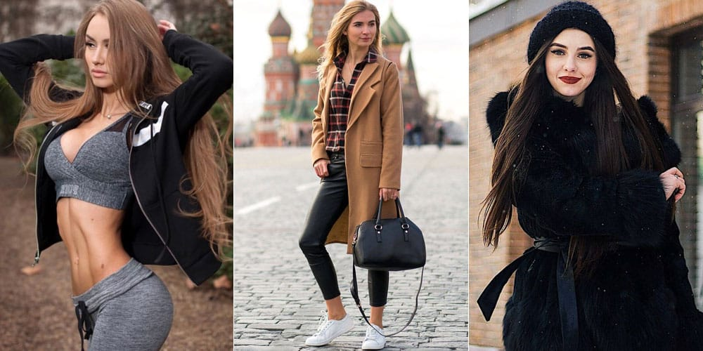 fit, fashionable and sophisticated Moscow women