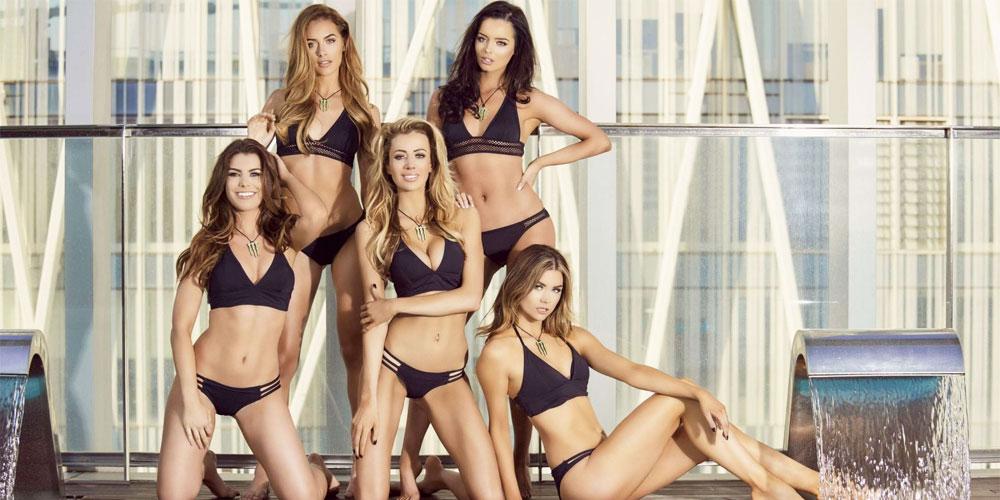 hot Barcelona bikini girls