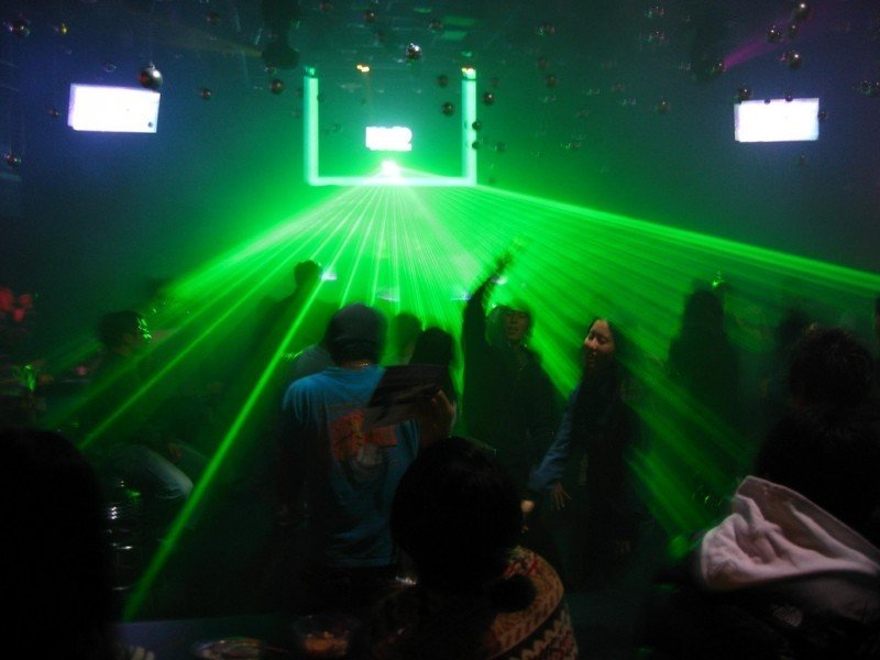 nightclub in Seoul, Korea