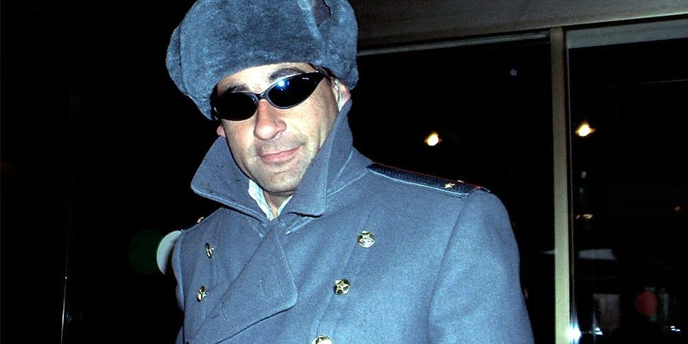 Russian man wearing sun glasses