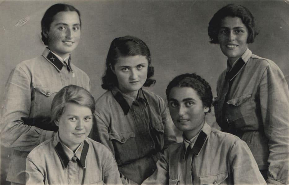 the beautiful Soviet Women