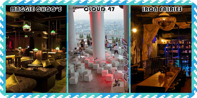 Top 3 bars in Bangkok