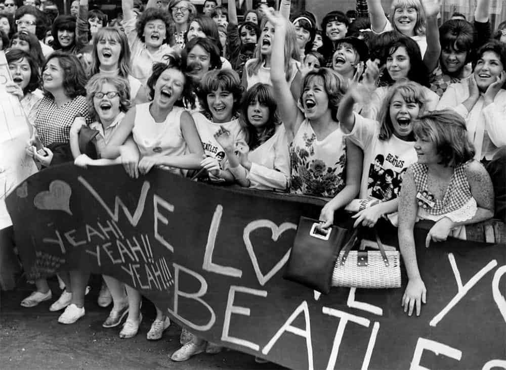 Beatles fans in 1964