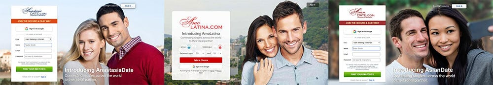 Anastasia family of dating sites
