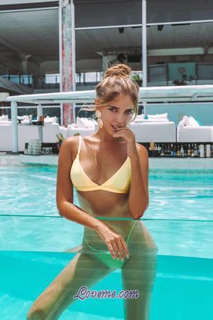bikini Russian girl with seductive look
