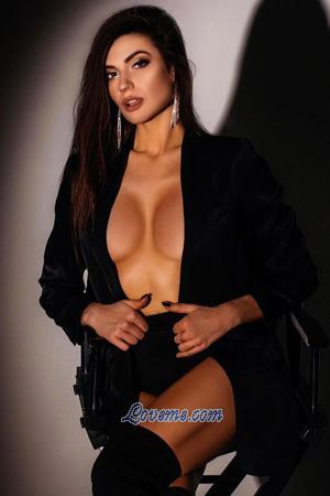 seductive Ukrainian brunette