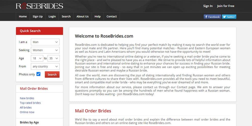 rosebrides.com review
