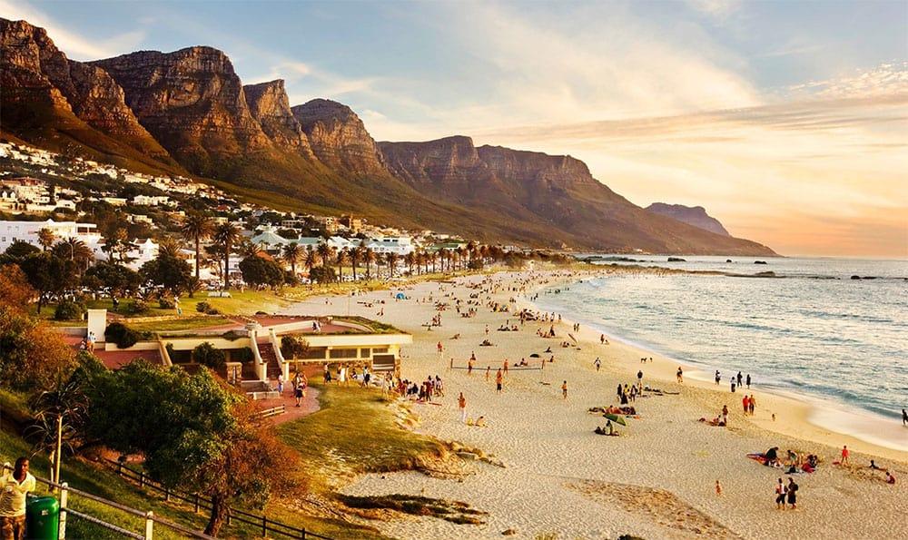 gorgeous beach in Cape Town