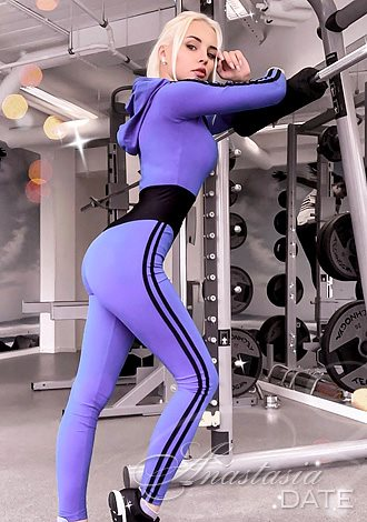 hot Estonian girl at the gym